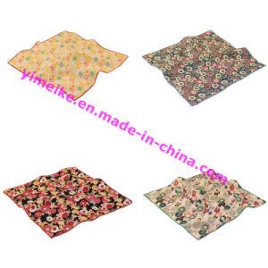 Japanese Various Floral Organic Cotton Mens Pocket Square pictures & photos