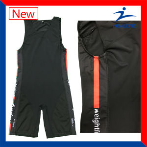 Blank Sublimation Cut and Sew Sports Gear Wrestling Singlets pictures & photos