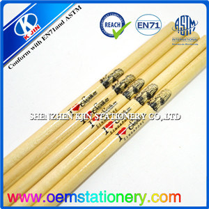 "7"" Wood Pencils with Logo /OEM Wooden Pencil"