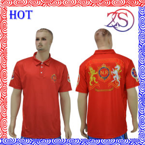 Custom Design Sublimated Dry Fit Polo Shirts pictures & photos