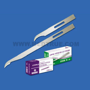 CE/ISO Approved Mt58057002 110mm Medical Disposable Stitch Cutter Blade (MT58057002)