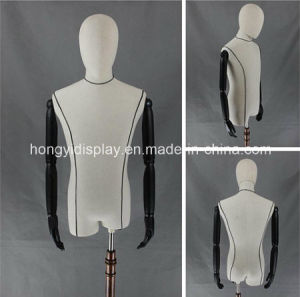 Male Half Body Mannequins for Store Display pictures & photos