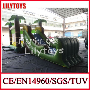 2015 Hot Palm Tree Theme Outdoor Inflatable Bouncer for Sale (J-BC-040)
