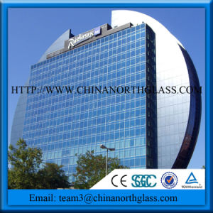 Laminated Tempered Safety Glass Curtain Walls pictures & photos