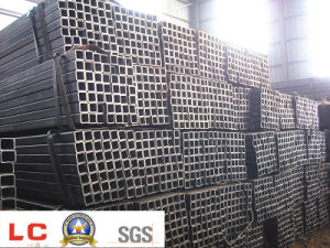 Hot Rolled Low Carbon Ms Welded Steel Square Pipe pictures & photos