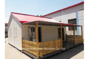 Sandwich Panel Light Steel Structure Prefabricated House pictures & photos