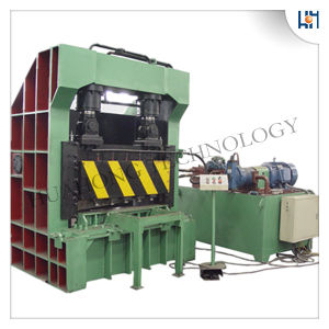Hydraulic Square Guillotine Shear Recycling Machine pictures & photos