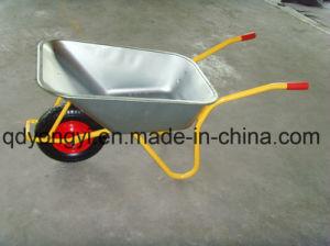 Heavy Duty Wheelbarrow for Ghana Market Wb6404h pictures & photos