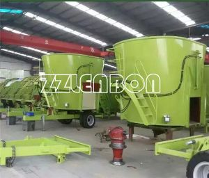 Vertical Pto Type Tmr Feed Mixer Tmr Feed Wagon Mixer pictures & photos