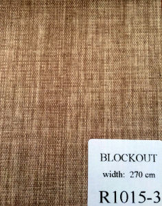 Texture Blackout Roller Blind Fabric pictures & photos