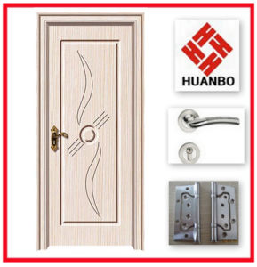 Popular Design Interior Wooden PVC MDF Door Hb-031