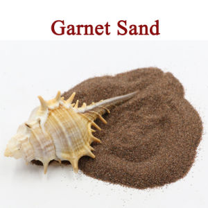 Best Selling 80mesh Water Jet Cutting Abrasive Garnet Sand pictures & photos