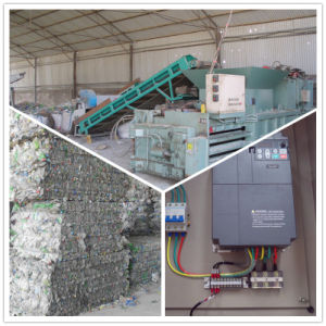Auto-Hydraulic Press Baler for Plastic Sheet Iron with CE Hm-3 pictures & photos
