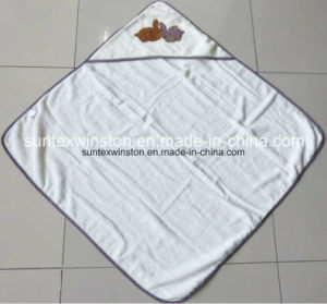100% Baby Hooded Bath Towels Wap pictures & photos