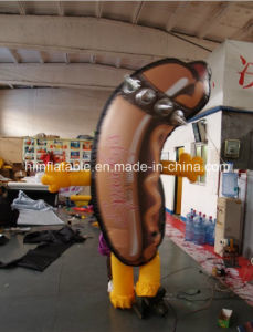 New Design Inflatable Moving Cartoon, Inflatable Ham
