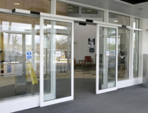Single Open Automatic Sliding Doors (DS100) pictures & photos