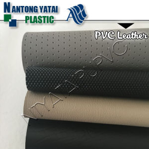 High Quality PVC Synthetic Leather for Upholstery, Seat with Low Price