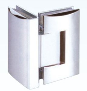 Zamak Glass to Glass 90 Degree Hinges (HS09F005)