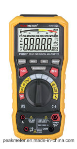Peakmeter Pm8237 40000 Counts Digital Multimeter with T-RMS/USB/Bt