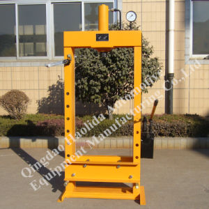Manual Hydraulic Press Machine 20t/25t/30t pictures & photos