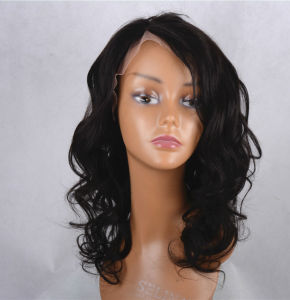 Virgin Glueless Brazilian Hair Full Lace Wigs pictures & photos