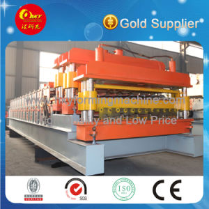 Roof Rolled Line China 2016 Rib Tiles Manfacturing machine pictures & photos