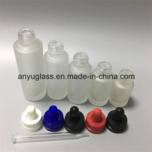 Hot Sale Frosted Dropper Glass Bottles for Essential Oil 30ml pictures & photos