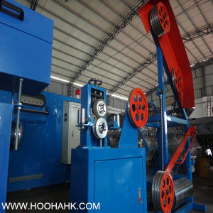 Leading Flat Cable Winding Displacement Extruder Machine pictures & photos