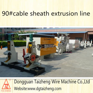 Stranded Copper Conductor Wire Sheath Extruder pictures & photos