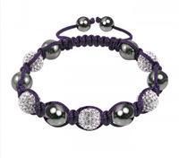 Fashion Shamballa Crystal Bracelet Sh07