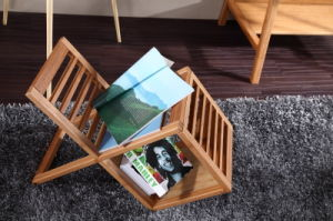New Design Bamboo Magazine Rack / Brochure Rack pictures & photos