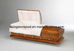 American Style Solid Poplar Casket (Monarch)