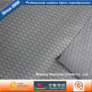 Polyester Diamond Grid Oxford Fabric PU Coated for Bag pictures & photos