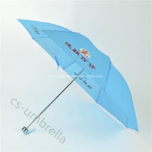 "21"" 4 Folding Umbrella with Logo (YS4F0002) pictures & photos"