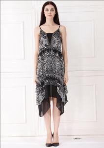 Fashion Elengent Simple Women Dress (L65033-1)