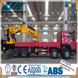 Pto Type Hydraulic Outrigger Support Legs Truck Mounted Crane pictures & photos