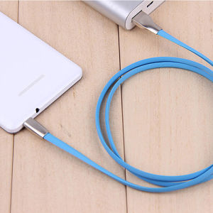 Data Cable Fast Charge USB Charger Cable 2A Line Stainless Steel Interface for Android Smartphone pictures & photos