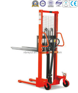 1000-1500kg Standard Manual Stacker pictures & photos