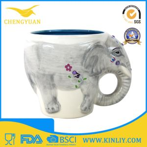 Novelty Ceramic Custom 3D Animal Tea Cup Coffee Mug pictures & photos