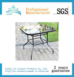 Outdoor Furniture Garden Furniture Foldable Rattan Dining Table (FD-T-025I)
