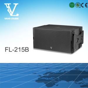 High Quality FL-215b Dual 15′′ Subwoofer with Power Amplifier Inside