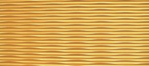 Gold Painting Wood Solid Wave Wall Panel (01CPGG) pictures & photos