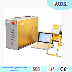 Hand Hold Fiber Laser Marking Machine for Metal, Piping, Cans pictures & photos