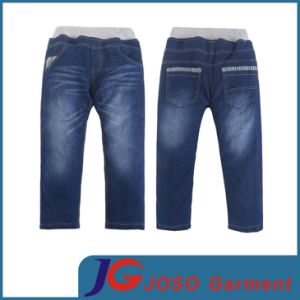 Wholesale Elastic Waist Kid Jean Pants (JC8037) pictures & photos