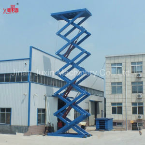 18m Height Aerial Scissor Lifting Platform pictures & photos