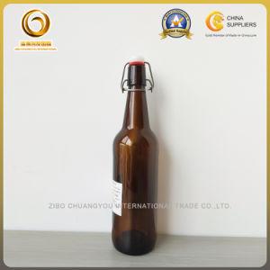 Fancy 750ml Amber Flip Cap / Swing Top Bottles for Beer (140) pictures & photos