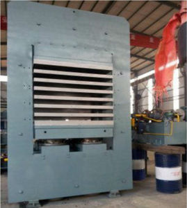 Rubber Sheet Hydraulic Press Rubber Machine pictures & photos