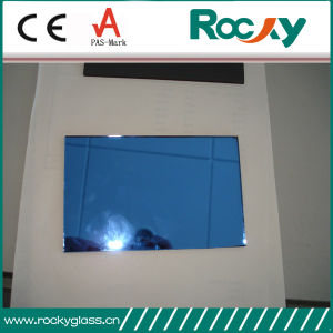 Rocky Factory Sell 4-6mm Dark Blue Reflective Glass pictures & photos