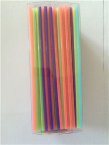 Multi-Color Plastic Coffee Straw PVC Box Package (ST009) pictures & photos