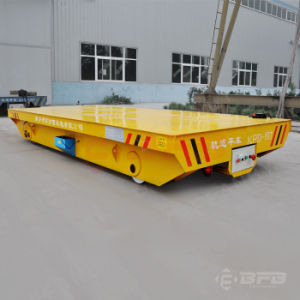 Electric Driven Motorized Transfer Platform Trailer on Rails pictures & photos